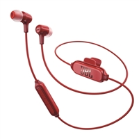 JBL E25 Bluetooth Wireless Earphones - Red