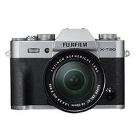 FujiFilm X-T20 Silver Digital Camera with XC16-50mm Lens