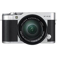 Fujifilm X-A3 Digital Camera with XC16-50mm Lens - Black