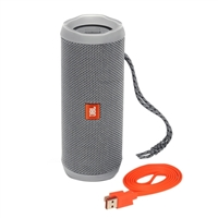 JBL Flip 4 Portable Bluetooth Speaker - Gray