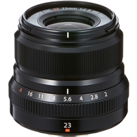 Fujifilm XF23mmF2.0 WR Black Lens