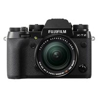 Fujifilm X-T2 24.2 Megapixel Digital Camera w/ 18-55mm Lens - Black