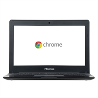 "HiSense C11 11.6"" Chromebook Refurbished - Black"