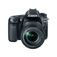 Canon EOS 80D DSLR Camera with 18-135mm Lens Kit  - Black