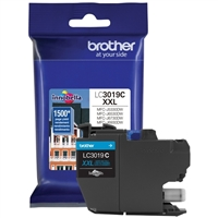 Brother LC3019C Super High Yield Cyan Ink Cartridge