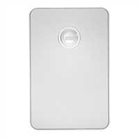 G-Technology 1TB G-Drive SuperSpeed USB 3.0/Firewire 800 Portable External Hard Drive - Silver