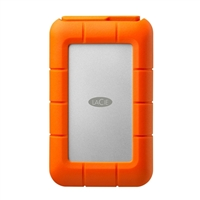 LaCie Rugged 4TB Integrated Thunderbolt, USB 3.1 (Gen 1 Type-A) RAID Portable External Hard Drive