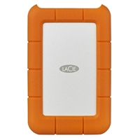 LaCie Rugged 1TB USB-C Portable Hard Drive