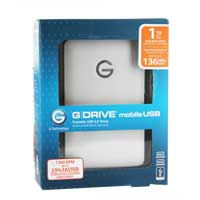 G-Technology G-DRIVE Mobile 1TB Portable Hard Drive