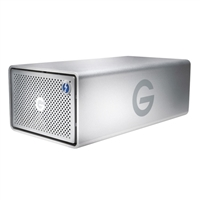 G-Technology 8TB Thunderbolt/SuperSpeed USB 3.0 Desktop External Hard Drive 0G04085