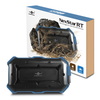 "Vantec NexStar RT Rugged USB 3.0 to 2.5"" SATA SSD/HDD External Hard Drive Enclosure"