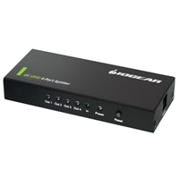 IOGear 4k UltraHD 4-Port HDMI Splitter