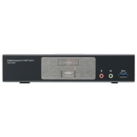 IOGear 2-Port DisplayPort 1.2 KVMP Switch with USB 3.1 Gen1 Hub and Audio