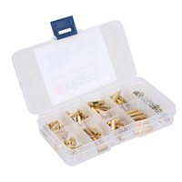 Inland M3 Brass Standoff Kit - 120 Piece