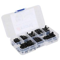 Inland M3 Nylon Spacer Kit - 180 piece