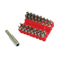 Duratool Security Bit Set - 32 Piece