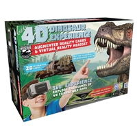 Emerge 4D Dinosaur Experience Augmented Reality Cards and Virtual Reality Headset
