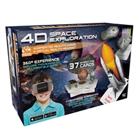 Emerge 4D Space Exploration Augmented Reality Cards and Virtual Reality Headset