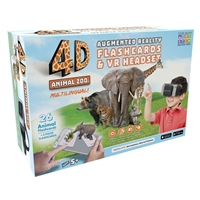 Emerge 4D Animal Zoo Augmented Reality Flashcards and Virtual Reality Headset