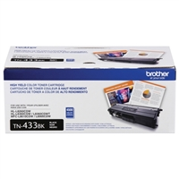 Brother TN433BK High Yield Black Toner Cartridge