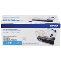 Brother TN-431C Cyan Toner Cartridge