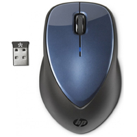HP Wireless Mouse X4000 with Laser Sensor - Winter Blue
