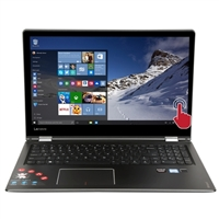 "Lenovo Flex 4 15.6"" 2-in-1 Laptop Computer - Black"