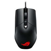ASUS ROG Strix Impact Aura USB Optical Gaming Mouse - Black