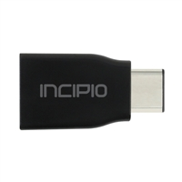 Incipio Technologies Charge/Sync USB-C to USB-A Adapter - Black
