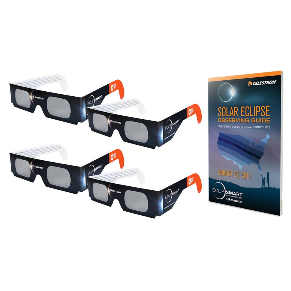 Celestron EclipSmart Solar Shades Sun and Eclipse Observing Kit