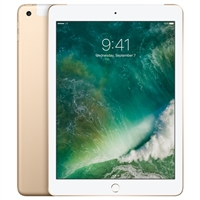 "Apple 9.7"" iPad 5 (32GB, Wi-Fi + Cellular, Gold)"