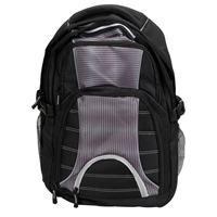 "Hynes Eagle Notebook Backpack Fits Screens up to 17"" - Black"