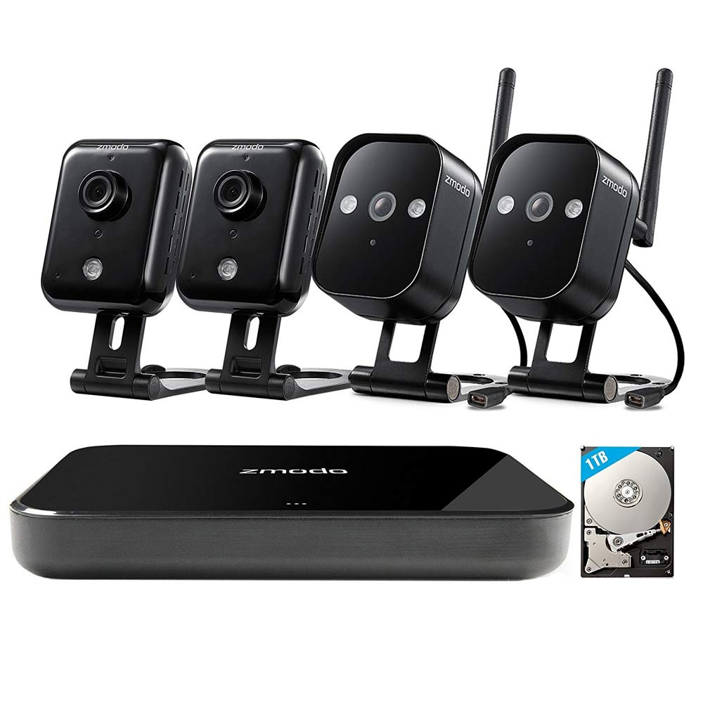 EP Technology HD WiFi Wireless Camera Security Kit