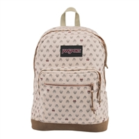 "Jansport Disney Right Pack Expressions Laptop Backpack Fits Screens up to 15"" - Pink Luxe Minnie"