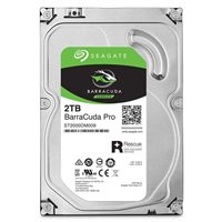 Seagate BarraCuda Pro 2TB 7,200RPM SATA III 6Gb/s 3.5 Internal Hard Drive
