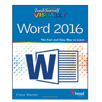 Wiley Teach Yourself Visually Word 2016