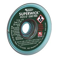 "MG Chemicals Lead Free Super Solder Wick - 5'x.075"" #3 Green"