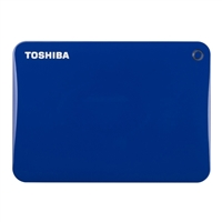 Toshiba 2TB Canvio Connect II Hard Drive - Blue