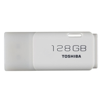 Toshiba 128GB TransMemory USB 2.0 Flash Drive - White
