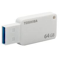 Toshiba 64GB TransMemory USB 3.0 Flash Drive - White