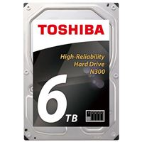 "Toshiba N300 6TB NAS 3.5"" Internal Hard Drive"
