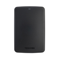 "Toshiba Canvio Basics 2TB 5,400 RPM USB 3.0 2.5"" Portable Hard Drive HDTB320XK3CA - Black"