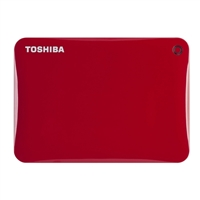 Toshiba Canvio Connect II 1TB SuperSpeed USB 3.0 Portable Hard Drive HDTC810XR3A1