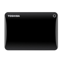 Toshiba Canvio Connect II 1TB SuperSpeed USB 3.0 Portable Hard Drive HDTC810XK3A1