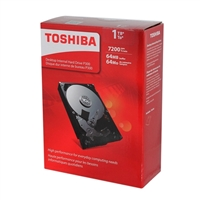 "Toshiba P300 1TB 7,200 RPM SATA III 6Gb/s 3.5"" Desktop Internal Hard Drive - HDWD110XZSTA"