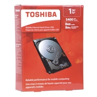 "Toshiba L200 1TB 5400RPM SATA II 3Gb/s 2.5"" Internal Hard Drive"