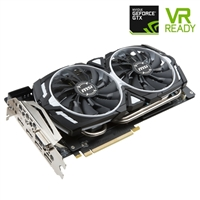 MSI GeForce GTX 1080 Ti ARMOR Overclocked 11GB GDDR5X Video Card