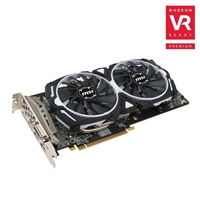 MSI Radeon RX 580 ARMOR Overclocked 4GB GDDR5 Video Card
