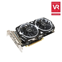 MSI Radeon RX 570 ARMOR Overclocked 4GB GDDR5 Video Card