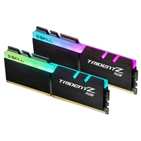 G.Skill Trident Z RGB 16GB 2 x 8GB DDR4-3200 PC4-25600 CL16 Dual Channel Desktop Memory Kit
